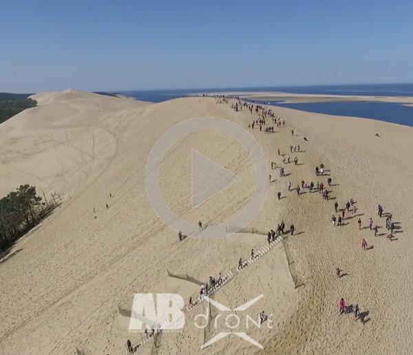 M6 Dune du Pyla banque d'images